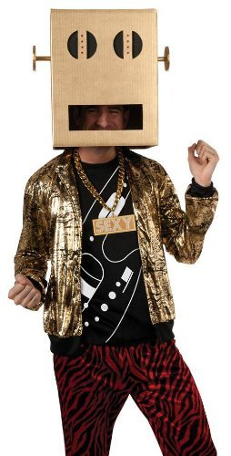 Lmfao Shuffle Bot Halloween Costume (Shuffle Bot Party Rock Anthem Costume - Standard - Chest Size)
