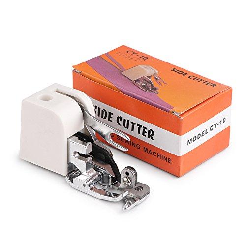 Máquina de coser ONEVER para cortar laterales Accesorio para pies de pie para pies de prensatelas para todos los cantantes bajos Janome Brother: Amazon.es: ...