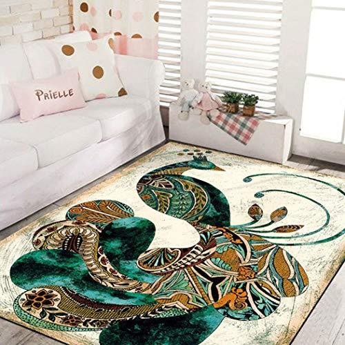 Flannel Carpet for Living Room Anti-Slip Carpet Bedroom Bedside Rugs Soft Kids Room Mats