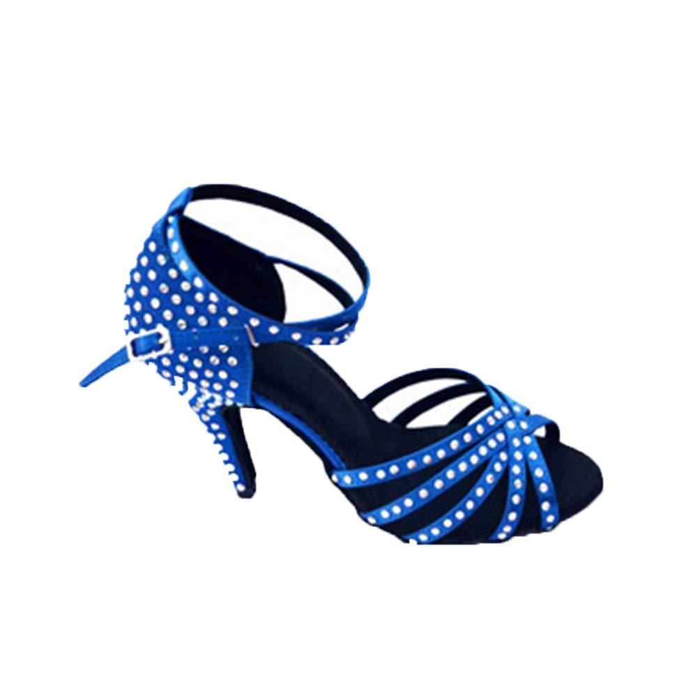WHL.LL Damen Damen Damen Rom Lateinische Tanzschuhe Leuchtenden Strass Hoher Absatz Tanzschuhe Rutschfest Weicher Boden Moderne Tanzschuhe 39a3e0