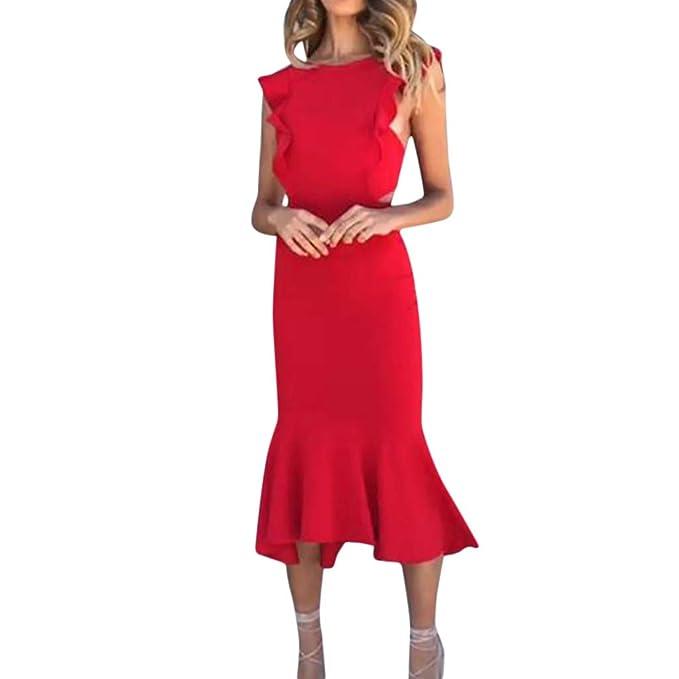 ❤ Vestido para Mujer, RETUROM Flapper Vestidos de Mujer de los años 29 con con Cuentas de Flecos Dress: Amazon.es: Ropa y accesorios