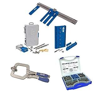 Amazon.com: Kreg DIYKIT DIY Project Kit with Pocket-Hole