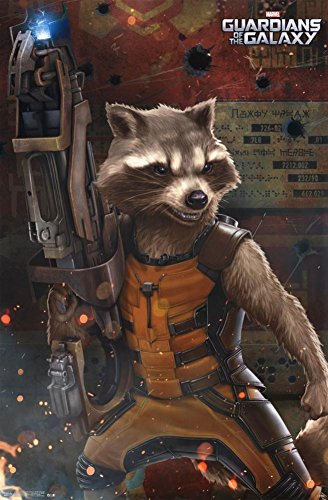 Guardians of the Galaxy - Rocket Raccoon Poster