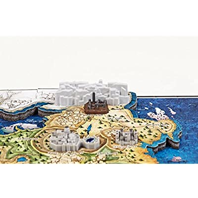 Game of Thrones 4D Puzzle of Westeros & Essos: Toys & Games