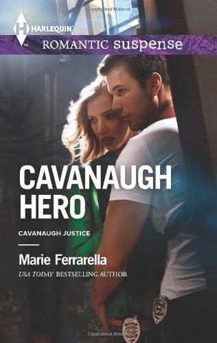 book cover of Cavanaugh Hero