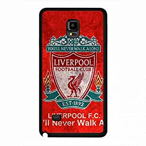 The Reds Samsung Galaxy Note 4 Cover,Cover Of Samsung Galaxy Note 4 Liverpool Football Club,Premier League Cover