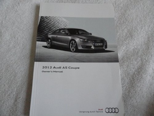 2012 Audi A5 Coupe Owners Manual