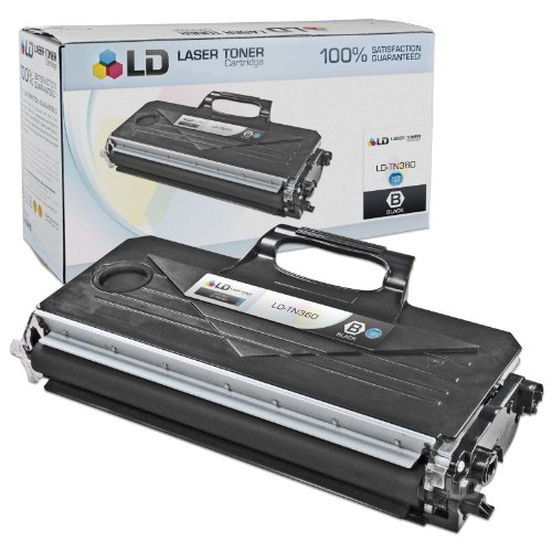 LD Compatible Brother TN360 (TN330) HY Black Toner Cartridge for DCP-7030, DCP7-7040, DCP-7045N, HL-2140, HL-2150N, HL-2170W, MFC-7320, MFC-7340, MFC-7345DN, MFC-7345N, MFC-7440N & MFC-7840W