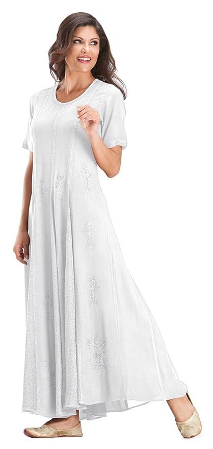 531e5b7b1ba HolyClothing Catriona Empire Flare Long Gypsy Peasant Dress at Amazon  Women s Clothing store