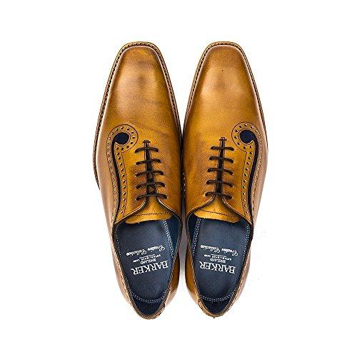 Barker Lucas Cèdre en cuir à lacets Chaussures