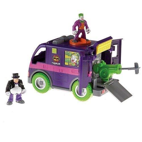 Imaginext Villain Van with exclusive Joker and Penguin action -