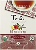 Davidson's Tea Tulsi Hibiscus Flower, 8-Count Tea Bags (Pack of 12) For Sale