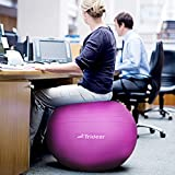 Trideer Exercise Ball Anti-Burst&Anti-Slip Balance