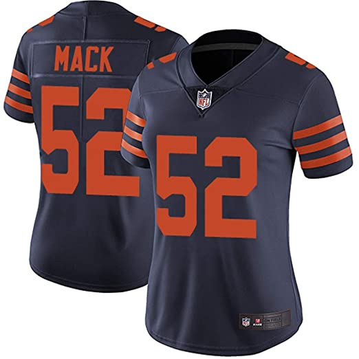 Amazon.com  Women s Chicago Bears  52 Khalil Mack Limited Jersey ... 8911f5af2