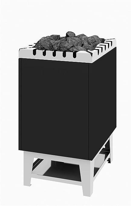 Sauna Horno de Stand Modelo tipo 44 – 12 kW Antracita abrigo