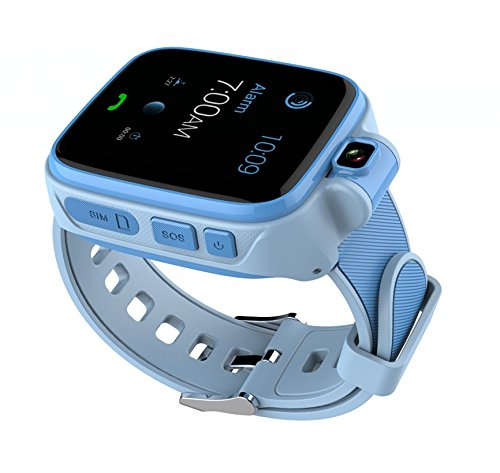 4G Network Smart Watch for Kids, Camera GPS/LBS/WiFi Tracker SOS Social Children Watch Phone, APP Compatible for iOS Android, Touch Screen
