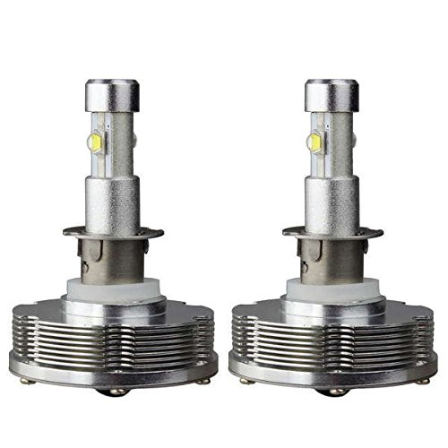 Jtech H3 Type High Power Cree Xenon White Light LED Headlight - Replaces Halogen & HID Bulbs