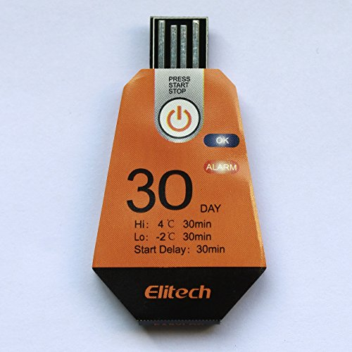Elitech Disposable USB Temperature Data Logger RC-12 for the entire cold chain logistics