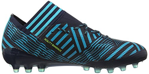 adidas Nemeziz 17.1 AG, Scarpe da Calcio Uomo Blu (Legend Ink/Solar Yellow/Energy Blue)