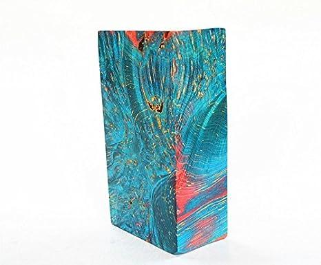 Madera estable se utiliza para hacer tubo de alta calidad, caja electrónica de cigarrillos, mango de cuchillo, pulsera, anillo, funda de encendedor y estuche para bolígrafo: Amazon.es: Juguetes y juegos