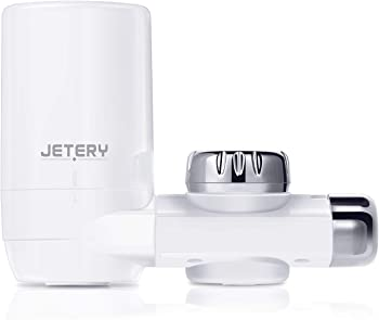 JETERY Faucet Water Filter with Carbon Fiber Filter