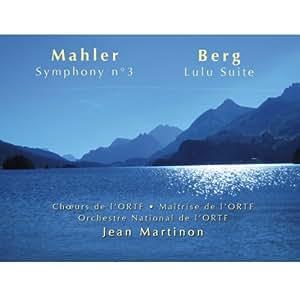 Mahler : Symphonie n° 3. Ruetgers. Martinon.