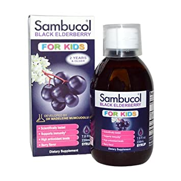 82950c6d3ebb Image Unavailable. Image not available for. Color  Sambucol Black  Elderberry Syrup ...