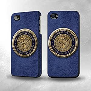 Apple iPhone 4 / 4S Case - The Best 3D Full Wrap iPhone Case - US Navy