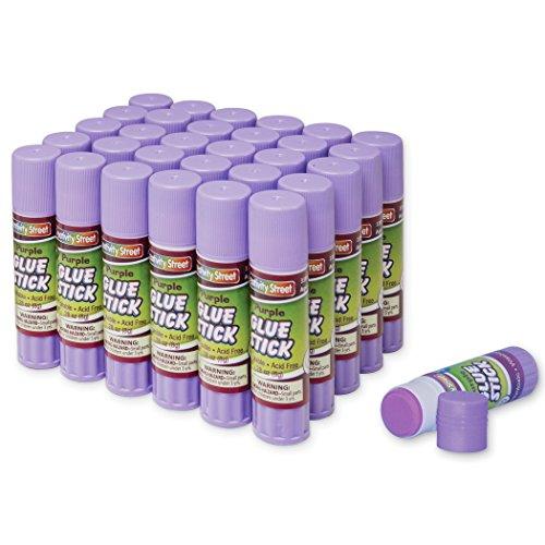 creativity-street-washable-028-ounce-glue-sticks-30-piece-pack-purple-ac3384-30