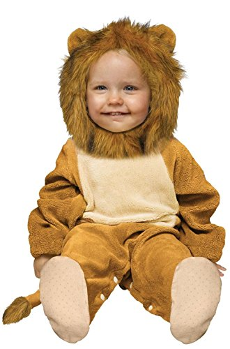 Cuddly Lion Infant Halloween Costume