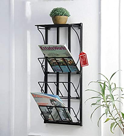 Onlineshoppee Acuerdo Iron Foldable Magazine Holder Amazonin Home Cool Foldable Magazine Holder