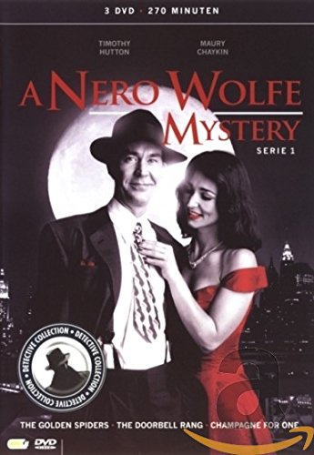 (A Nero Wolfe Mystery - Series 1 - 3-DVD Box Set ( A Nero Wolfe Mystery - Series One ) ( The Golden Spiders / The Doorbell Rang (The Door bell Rang) [ NON-USA FORMAT, PAL, Reg.2 Import - Netherlands ])