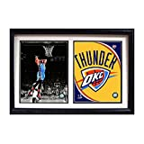 Encore Select 122-63 NBA Oklahoma City Thunder Russell Westbrook Double Frame, with Two Images, 12-Inch by 18-Inch