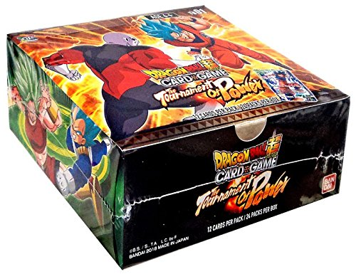 Dragon Ball Super TCG: The Tournament of Power Themed Booster Box - 24 (Tcg Booster)