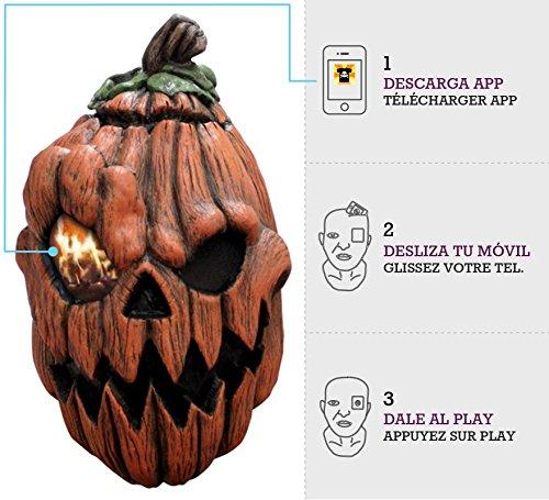 Mask Digital Dudz Creepy Pumpkin Latern