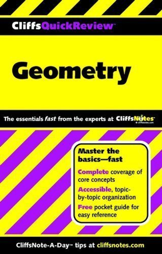 Geometry (Cliffs Quick Review) by Kohn, Edward 1st (first) Edition [Paperback(2001/5/29)]