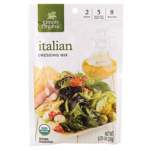 (Simply Organic Dressing Mix, Italian, .7 oz)