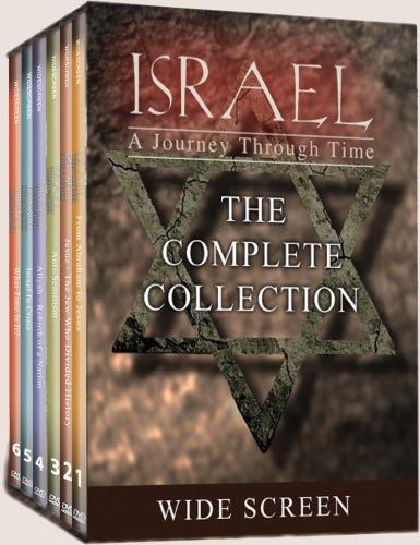 Israel: A Journey Through Time (6 DVD) widescreen