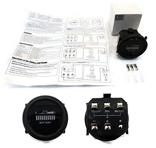 - 12V 24V 36V 48V 72V VDC Volt Battery Indicator Gauge Nissan Forklift Lift Truck by The ROP Shop