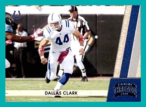 2011 Panini Threads #64 Dallas Clark INDIANAPOLIS (Dallas Clark Colts)