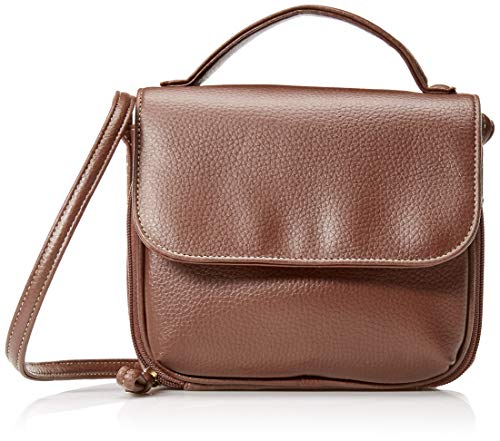 Buxton Morgan Crossbody, Chocolate Brown
