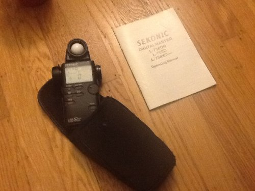 - SEKONIC  L-508 ZOOM MASTER EXTERNAL LIGHT METER