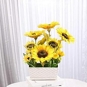 YSZL Artificial Sunflower with Pot 4