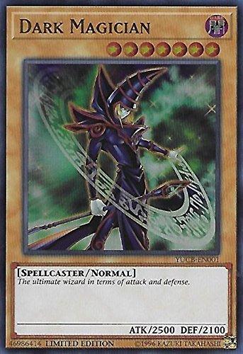 Yugioh 1st Ed Dark Magician YUCB-EN001 Ultra Rare 1st Edition Yugi's Collector Box Cards (Dark Magician Ultra Rare Card)