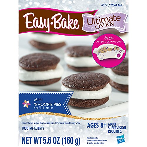 Easy-Bake Ultimate Oven Mini Whoopie Pies Refill Pack (Ez Bake Mixes)