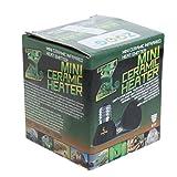 25 watt infrared bulb - Qupida 25/50/75/100 Watt 110-120 V Mini Reptile Heat Lamp Far Infrared Ceramic Emitter Heater Brooder Appliances Bulb Pet Coop Grow Light(Black) (25 WATT)