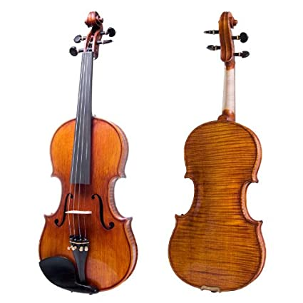 Cecilio CVN-700 4/4 Full Size Fully Set Up 1-Piece Back Violin Outfit