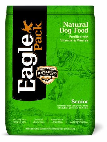 Eagle Pack Natural Pet Food, Senior Formula for Dogs, 15-Pound Bag, My Pet Supplies