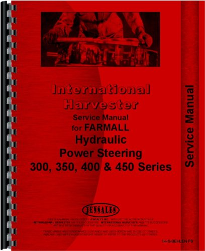 International Harvester Tractor Behlen Power Steering Service Manual