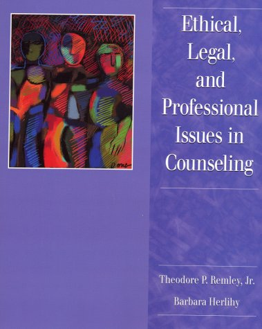 Ethical and professional aspects of counselling work